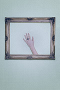 Surreal Photos - Framed Hand by Joana Kruse
