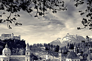 Greg Matchick - Framed View of Salzburg...