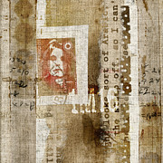 Weathered Prints - France 1M16 Collage Print by Carol Leigh