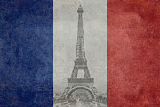 European Capital Digital Art Metal Prints - France Metal Print by Bruce Stanfield