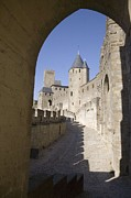 Carcassonne Prints - France. Carcassonne. Medieval City Or Print by Everett