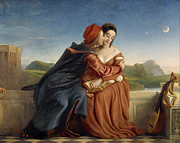 Famous Artists - Francesca da Rimini by William Dyce