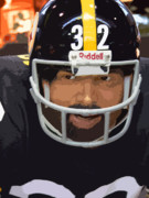 Pittsburgh Steelers Prints - Franco Print by David Bearden