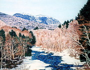 Franconia Notch Paintings - Franconia Notch  by Robert Giggi