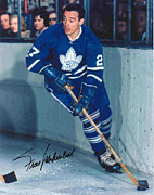 Frank Prints - Frank Mahovlich Signed Poster Print by Sanely Great