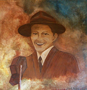 Frank Sinatra Painting Originals - Frank by Nora Niles