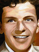 Sinatra Art Posters - Frank Sinatra Poster by James Shepherd