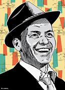 Frank Sinatra Pop Art Print by Jim Zahniser