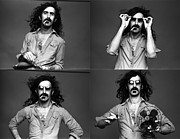 Frank Prints - Frank Zappa Art Poster Print by Sanely Great