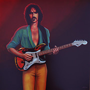 Paul Meijering Art - Frank Zappa by Paul Meijering