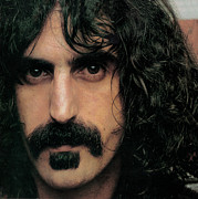Frank Prints - Frank Zappa Portrait Print by Sanely Great