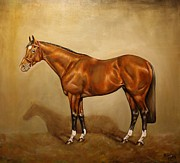 Champion The Horse Prints - Frankel Print by Birgit Schnapp