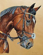 Racing Pastels - Frankel Tribute by Dagmar Galleithner- Steiner
