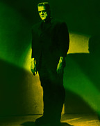 Halloween Digital Art - Frankenstein 20130218m80 by Wingsdomain Art and Photography
