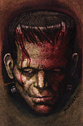 Dave Mixed Media - Frankenstein  by David Shumate