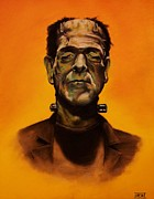 Lightning Bolts Originals - Frankensteins Monster by Brent Andrew Doty