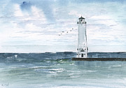 Sean Seal - Frankfort Harbor Light