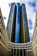 Canon 7d Originals - Frankfurt Germany Skycraper 4 by JJ  Aponte