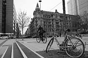 Frankfurt's Square Print by Yannis Zach