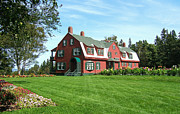Roosevelt Art - Franklin D. Roosevelts Beloved Island Campobello by Edward Fielding