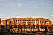 University City Prints - Franklin Field in the Morning Print by Bill Cannon