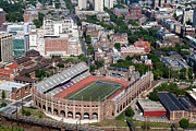 Downtown Franklin Photo Prints - Franklin Field University City Pennsylvania Print by Bill Cobb