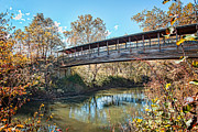 Franklin Tennessee Prints - Franklin NC Little Tennessee River Print by Carl Clay