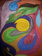 Fertilization Originals - Fraternal by Mary Ann  Hindy