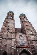 Hannes Cmarits Metal Prints - Frauenkirche Metal Print by Hannes Cmarits