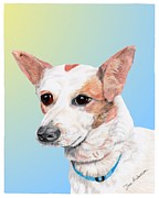 Animal Shelter Mixed Media - Freckles a former shelter dog by Dave Anderson