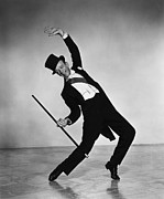 Tap Posters - Fred Astaire Poster by Sanely Great