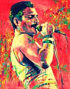 Freddie Mercury Print by Marta Zawadzka
