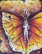 Free As The Flame Print by Shana Rowe