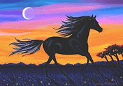 Running Pastels - Free As The Wind by SophiaArt Gallery