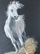Filly Paintings - Free as the Wind by Susan Richardson