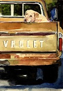 Chevrolet Paintings - Free Ride by Molly Poole
