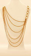 Woman Gift Jewelry - FREE SHIPPING Gold chains necklace by Batya Salomon