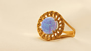 Charm Ring Jewelry - FREE SHIPPING Gold Filled Ring With Moonstone by Batya Salomon