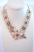 Urban Outfit Jewelry - Free Shipping Idit Stern Blooming Crystals Necklace by Idit Stern