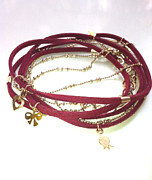 Peace Jewelry - FREE SHIPPING Idit Stern Red Rhapsody Bracelet by Idit Stern