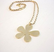 Urban Outfit Jewelry - Free Shipping Idit Stern Sole Flower Pendant Necklace by Idit Stern