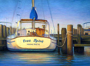Texas Pastels Originals - Free Spirit by Laura Griffith