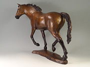 Realism  Sculpture Originals - Free Spirit by Lisbeth Sabol