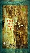 Arkansas Mixed Media Prints - Free The West Memphis 3 Print by Joshua Brown