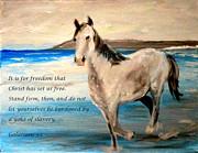 Freedom Print by Amanda Dinan