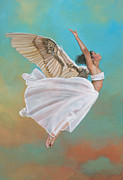 Virtue Paintings - Freedom by Carol Heyer