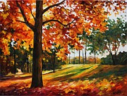 Leonid Afremov - Freedom of Autumn -...