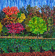 Foliage Paintings - Freedom Park 1 by Micah Mullen