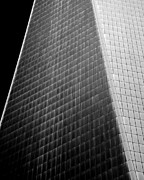 Freedom Tower Prints - Freedom Tower Abstract Print by Alexander Snay