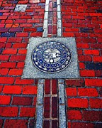 Massachusetts Art - Freedom Trail by Benjamin Yeager